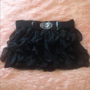 Rue21 little black party skirt